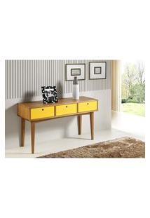 Aparador Vintage Acab. Amendoa Laca Amarelo - 17122 Amarelo