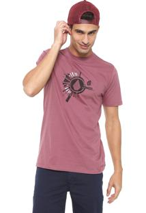 Camiseta Volcom Radiate Vinho