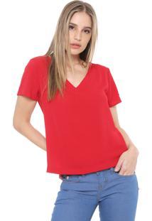 Blusa Ana Hickmann Bubble Vermelha