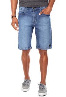 Bermuda Jeans Hang Loose Indask Azul