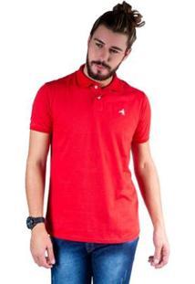 Camisa Polo Hipica Polo Club Meia Malha Coton Masculina - Masculino