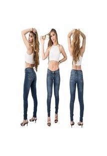 Calça Jeans Feminina Beloved Skinny Indigo 1027 Azul