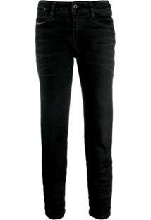 Diesel Classic Skinny-Fit Jeans - Preto