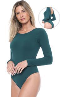 Body Dimy Liso Verde