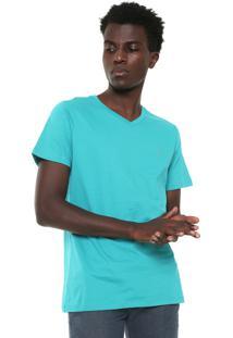 Camiseta Colcci Original Reta Verde