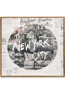 Quadro Em Canvas Colagem New York 70Cm