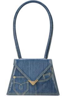 Amélie Pichard Bolsa Jeans - Azul