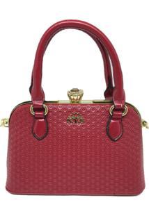 Bolsa Pequena Casual Importada Transversal Sys Fashion 8534 Vermelha