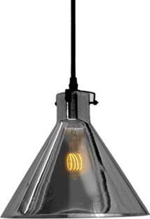 Pendente Retrô Preto Com Lâmpada Filamento Led A19 Sl2332 Toplux - Kanui