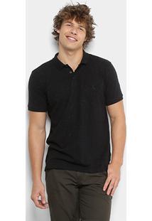 Camisa Polo Reserva Prim Masculina - Masculino-Preto