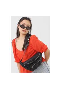 Pochete Desigual Belly Bag Majestic Preta