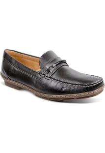 Sapato Masculino Loafer Sandro Moscoloni New Picasso Cinza