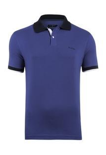 Camisa Polo Pierre Cardin Cobalt Masculina - Masculino