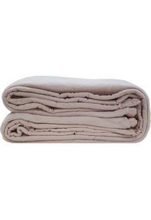Cobertor King Size- Rosãª- 240X260Cm- Sultansultan