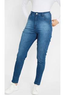 Calça Hot Pant Jeans Azul