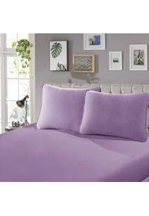 Fronha Para Travesseiro Confort Lisa 1 Peã§A Rose - Sbx Tãªxtil - Rosa - Dafiti