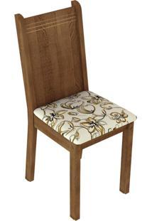 Kit 6 Cadeiras 4290 Madesa - Rustic/LãRio Bege Marrom - Marrom - Dafiti