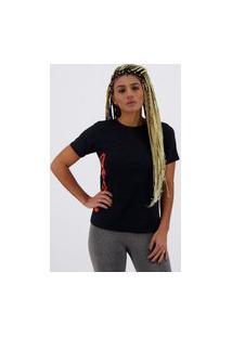 Camiseta Head Básica Feminina Preta