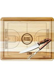 Kit Churrasco Nba Detroit Pistons - Unissex