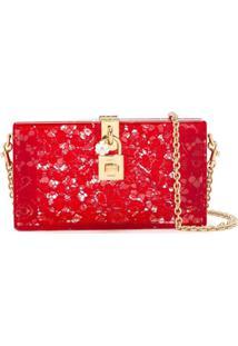 Dolce & Gabbana Clutch Modelo 'Dolce' - Vermelho