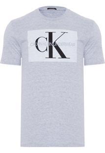 Camiseta Masculina De Algodão - Cinza