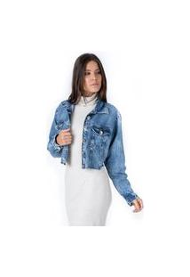 Jaqueta Cropped Pkd Jeans