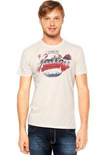 Camiseta Ellus Paradise Valley Off-White
