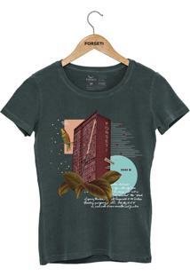 Camiseta Forseti Estonada Jk Verde - Kanui