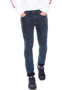 Calça Jeans Levi'S Skinny Masculina - Masculino-Azul Escuro