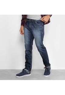 Calça Jeans Lost Denim Slim Masculina - Masculino