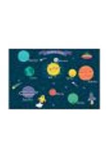 Painel Adesivo De Parede - Sistema Solar - Infantil - 1871Pnm