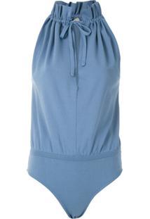 Egrey Body Gota Franzido - Azul