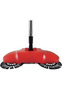 Vassoura Magica Com Dispenser Aspirador Manual 3Em1 Easy Clean