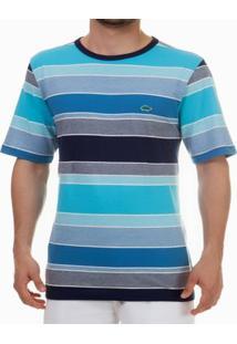 Camiseta Pau A Pique - Masculino-Azul Turquesa