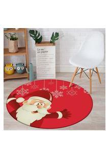 Tapete De Natal Redondo Red Noel 84Cm
