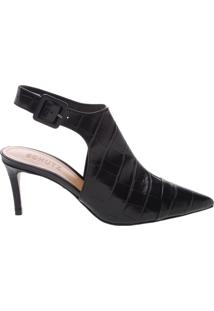 Mule New Croco Black | Schutz