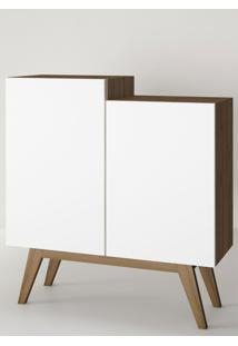 Aparador Buffet/Bar Modern Branco E Estilare Móveis