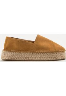 Alpargata Flatform Acamurã§Ada- Bege Escuroinbox Shoes