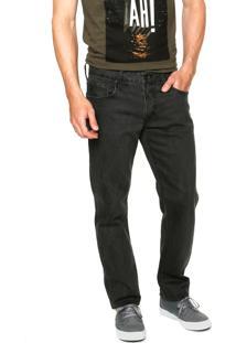 Calça Jeans Forum Greg Lisa Preta