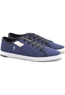 Sapatênis Polo Blu - Masculino-Jeans