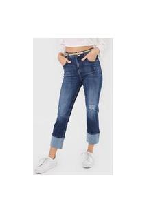 Calça Jeans Forum Reta Lolita Azul