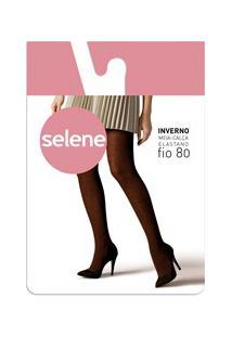 Meia-Calça Acrílico Fio 80 Selene (9830.002) Com Algodão