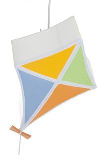 Lustre Pipa Colorida Potinho De Mel Colorido - Kanui
