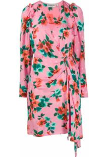 Essentiel Antwerp Vestido Com Estampa Floral - Rosa