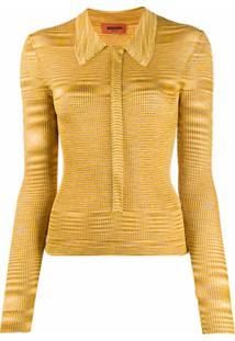 Missoni Blusa De Tricô Listrada - Amarelo