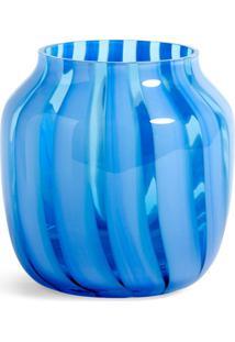 Hay Vaso Com Listras - Azul