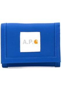 A.P.C. Carteira X Carhartt - Azul