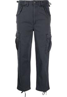 Boyish Denim The Kai Denim Cargo Pants - Azul