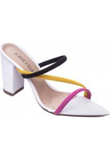 Sandália Torricella Multicolorido