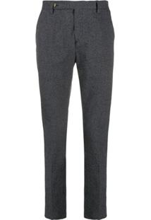 Entre Amis Corduroy Drawstring Trousers - Azul